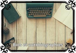 Catégorie œuvres bio et autobiograhiques
