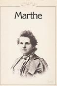 MARTHE autobiographie de Marthe Editions du Seuil année 1981 ISBN 2020060477 livre broché grand format dimensions 14,2x20,7 cm, 350 pages